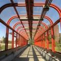Lincoln fields pedestrian overpass